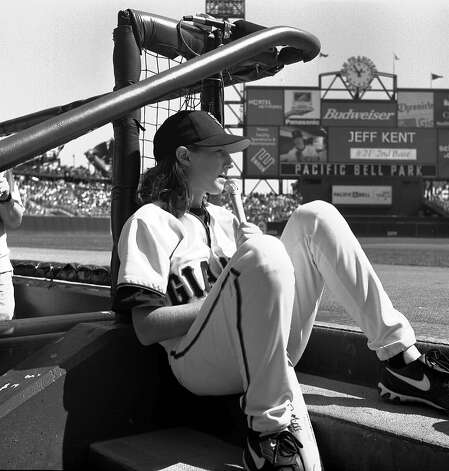 "Former San Francisco Giants bat girl, Alexis Busch, died in the boating accident involving the ""Low Speed Chase."" Photo: Heidi Montoya, San Francisco Giants"