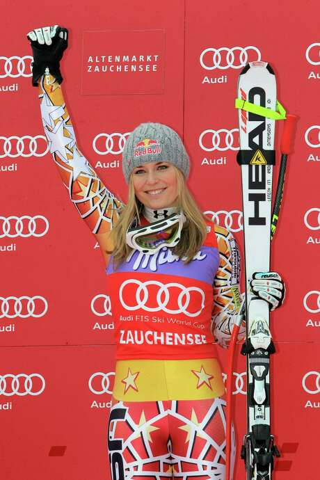 ZAUCHENSEE, AUSTRIA - JANUARY 8: (FRANCE OUT) Lindsey Vonn of the USA takes 1st place during the Audi FIS Alpine Ski World Cup Women's Downhill on January 8, 2011 in Zauchensee, Austria.  (Photo by Christophe Pallot/Agence Zoom/Getty Images) Photo: Christophe Pallot/Agence Zoom / Getty Images Europe