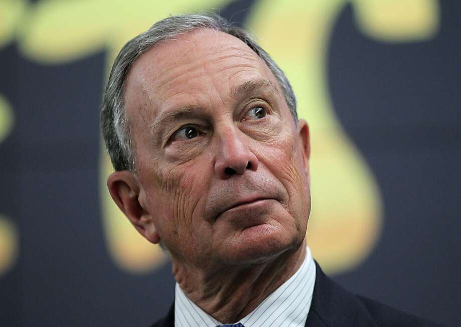 NEW YORK, NY - APRIL 13:  New York City Mayor Michael Bloomberg looks on during a news conference on April 13, 2012 in New York City.  NYC Mayor Michael Bloomberg and NYC and Co. announced today that the Muppets will act as New York City's official family ambassadors for the next year. The Muppets will will encourage family travel to New York City by highlighting the best ways for families to experience the city.  (Photo by Justin Sullivan/Getty Images) Photo: Justin Sullivan, Getty Images