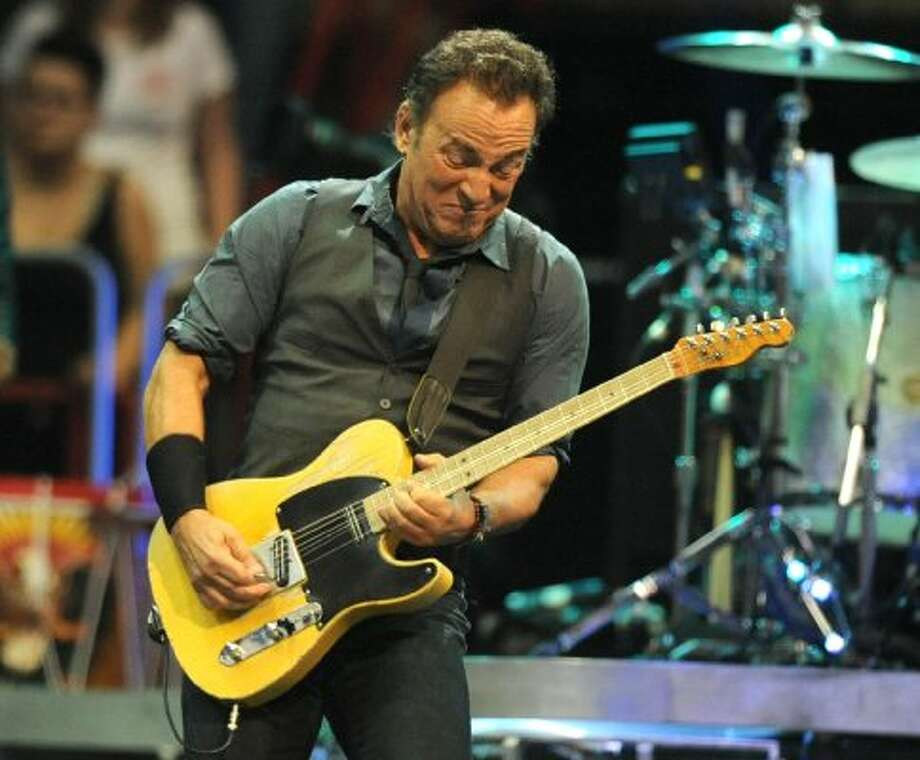 Bruce Springsteen performs to a sold out crowd at the Times Union Center on April 16, 2012 in Albany, N.Y. (Lori Van Buren / Times Union) (Albany Times Union)