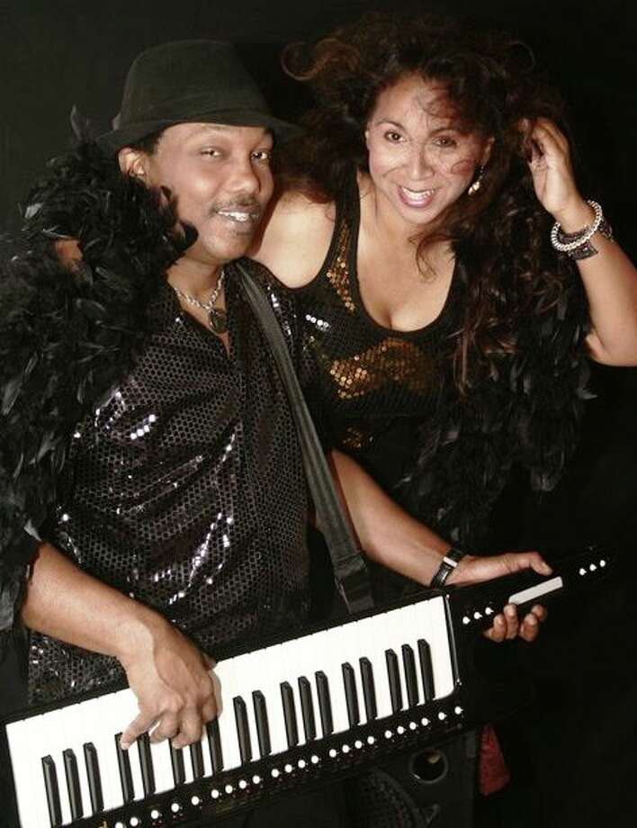 Houston R&B duo Chameleon -- Cheri Sutton and Bart Anderson Photo: Courtesy Photo