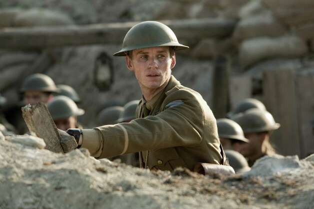 "Eddie Redmayne stars as Stephen Wraysford in the World War I drama ""Birdsong."" Photo: BBC"