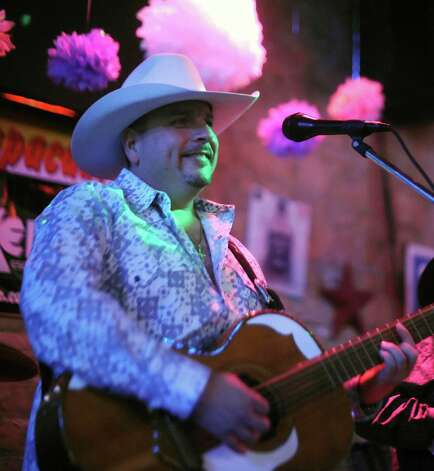Max Baca Los TexManiacs performs at the Cadillac Bar in San Antonio on Wednesday, April 11, 2012. Billy Calzada / San Antonio Express-News Photo: BILLY CALZADA, San Antonio Express-News / SAN ANTONIO EXPRESS-NEWS