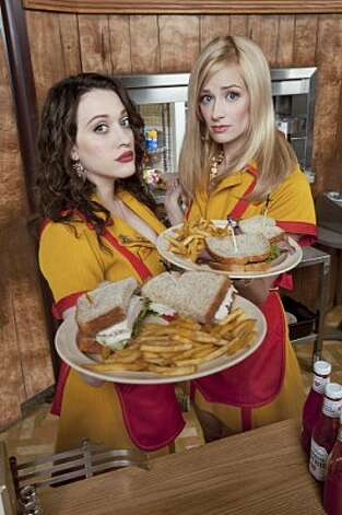 "Never again: ""2 Broke Girls."" Terrible acting, terrible jokes and terrible outfits."