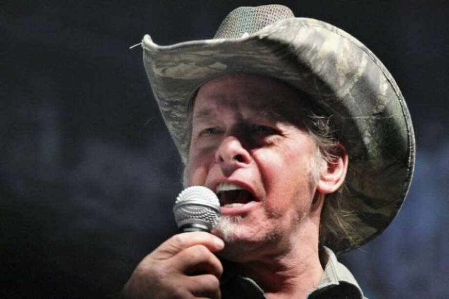 Ted Nugent will perform at Nutty Jerry's in Winnie on Friday.  Associated Press Photo: Associated Press