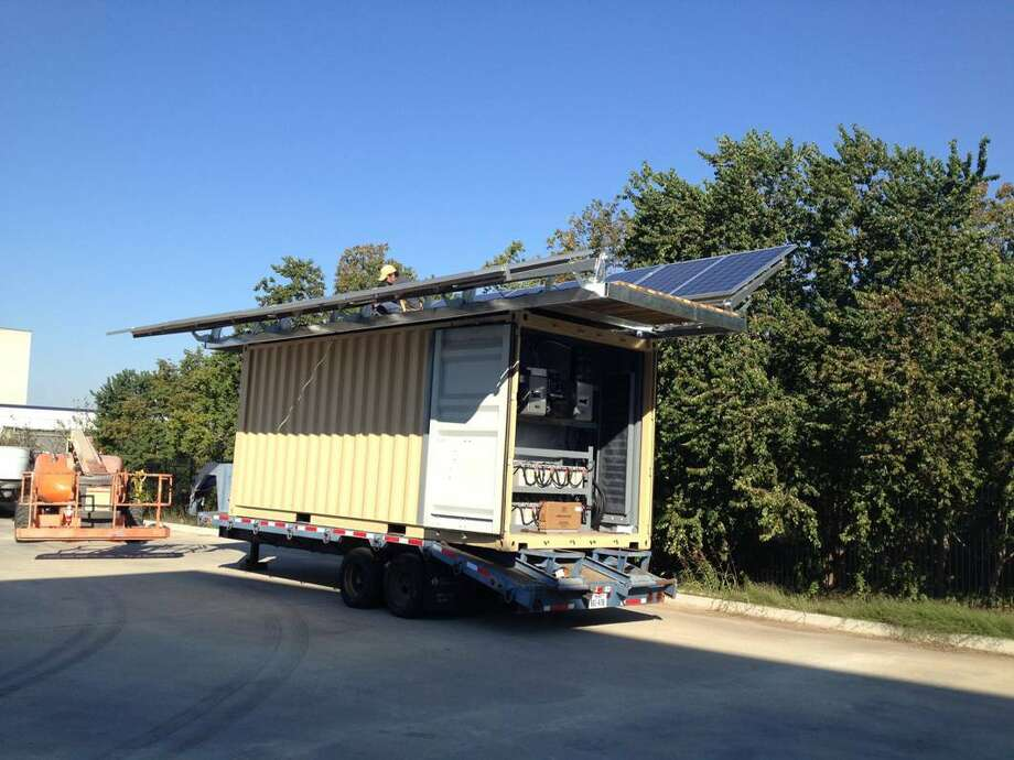 The city of Houston has agreed to loan a portable solar-powered generator to Wilson Montessori School. Photo: Handout