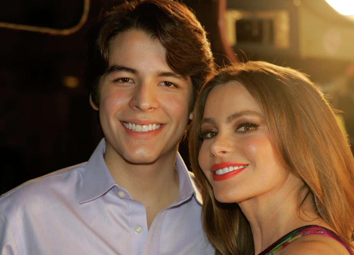 """Modern Family"" star Sofia Vergara and her film student son, Manolo González Vergara, star in the reality series ""Mi Vida Con Toty,"" on the new youtube channel, Nuevon."