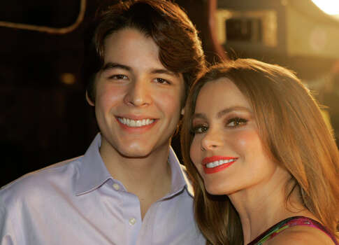 """Modern Family"" star Sofia Vergara and her film student son, Manolo González Vergara, star in the reality series ""Mi Vida Con Toty,"" on the new youtube channel, Nuevon. Photo: Courtesy"