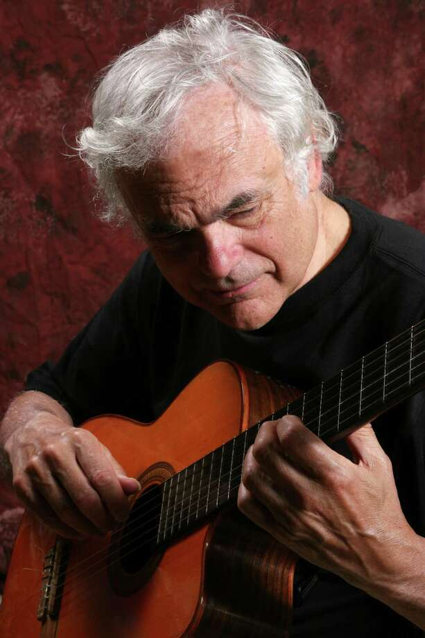 Jazz guitarist Gene Bertoncini, drummer Joe Corsello, violinist Sara Caswell and bassist Michael Moore will come together for a jazz concert on Sunday, April 22, at the Bartlett Arboretum & Gardens in Stamford. Advance reservations are suggested for the 2 p.m. performance. For more information, call 203-322-6971. Contributed photo/Michael G. Stewart Photo: Contributed Photo