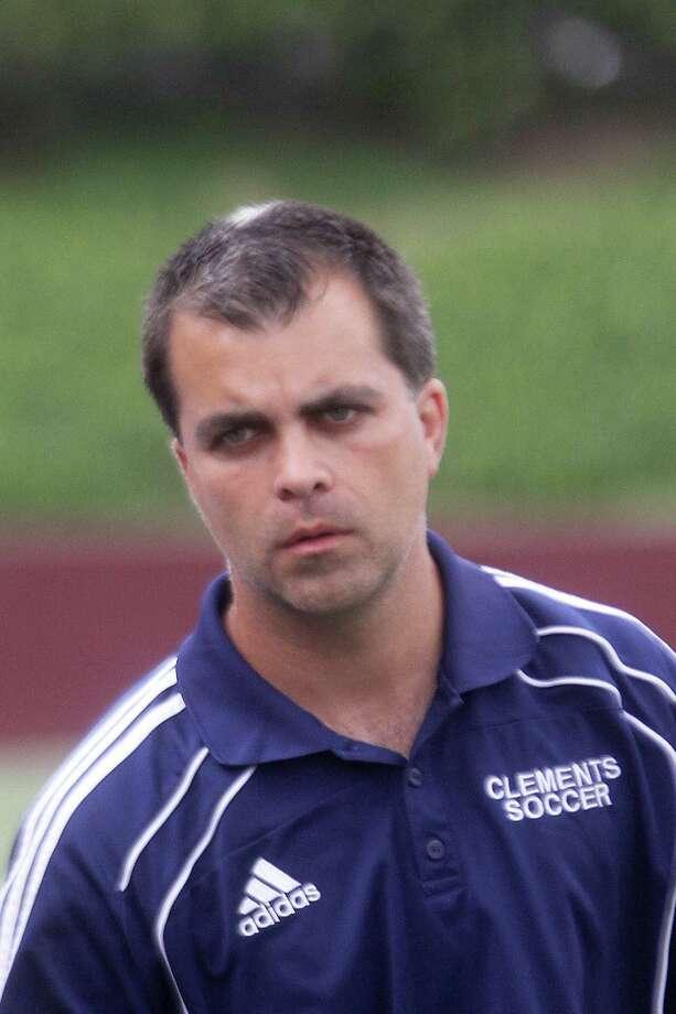 Clements coach Robert Boagni. Photo by Pin Lim. Photo: Pin Lim / Copyright Pin Lim.