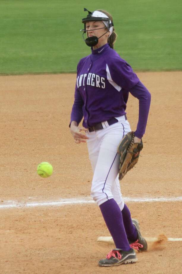 Ridge Point pitcher Kate Patel and the Panthers put together an inaugural season that will set the bar for future squads. Photo: Pin Lim / Copyright Pin Lim.
