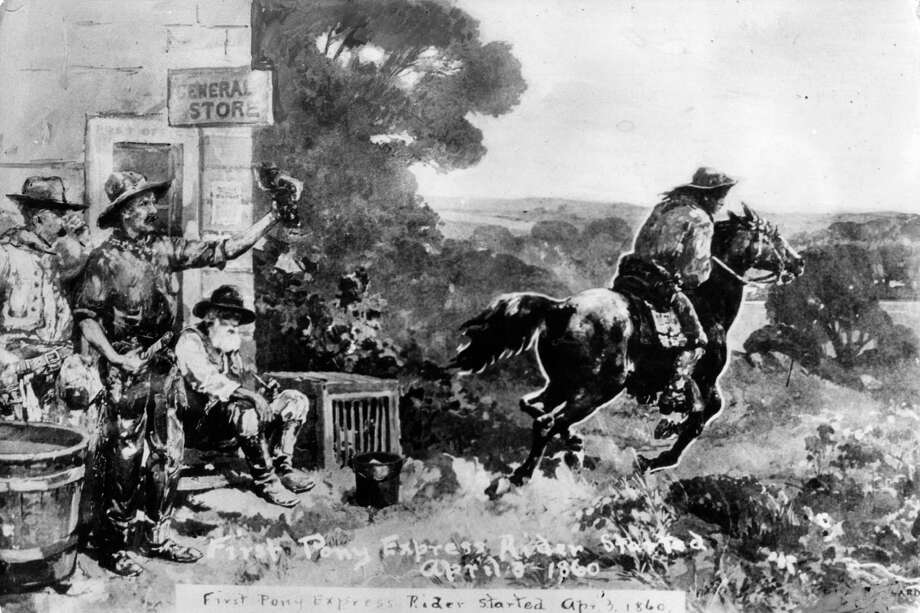 Before the Mexican-American War, news moved at the speed of a horse. Photo: Keystone, Getty Images / Hulton Archive