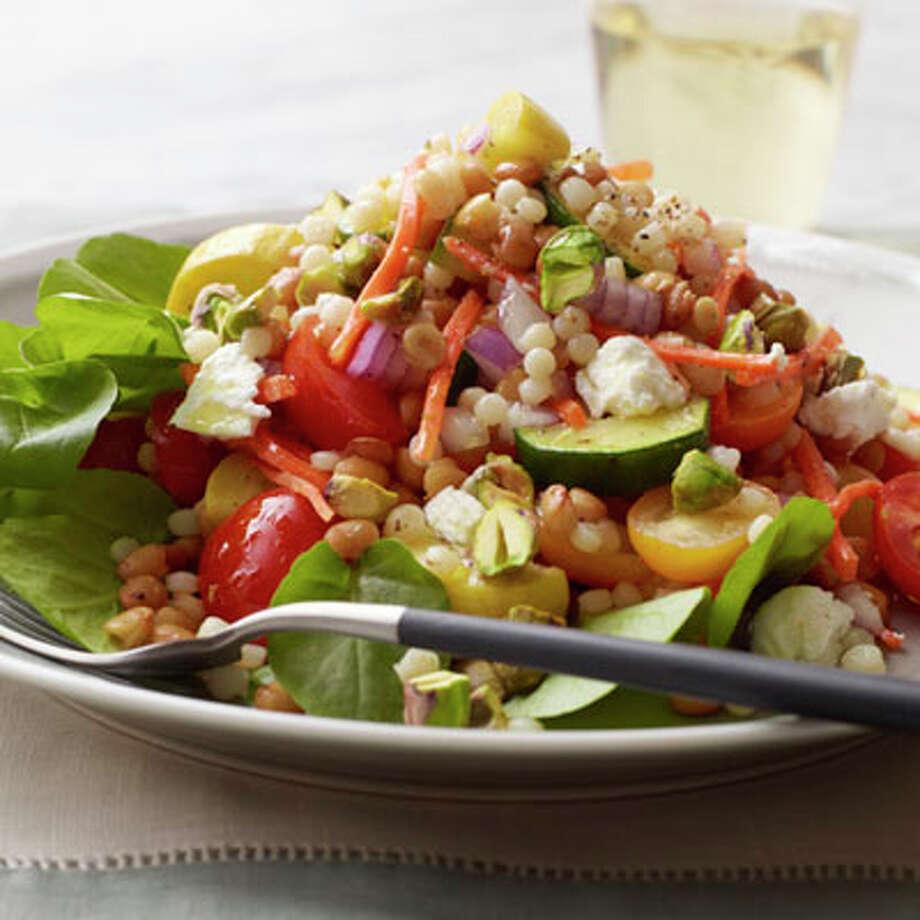 Primavera Couscous Salad Photo: Con Poulos / Redbook