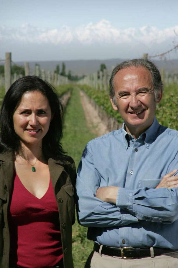 Father-daughter winemakers Laura and Nicolas Catena are dedicated to promoting Argentine wine. Photo: Photo Courtesy Of Laura Catena