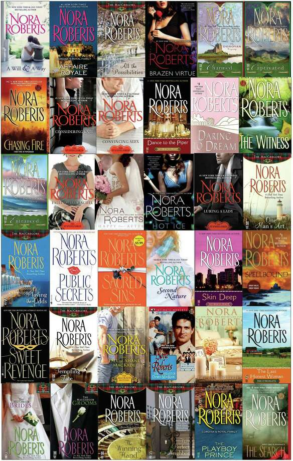 """I was educated by the nuns,"" says Nora Roberts, who just published her 200th novel. Photo: -- / The Washington Post"