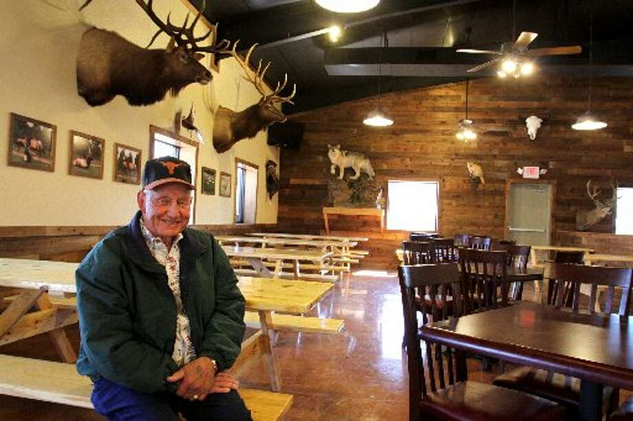 Katy proprietor Herman Meyer sits inside his restaurant which he opened two years ago and plans to expand.