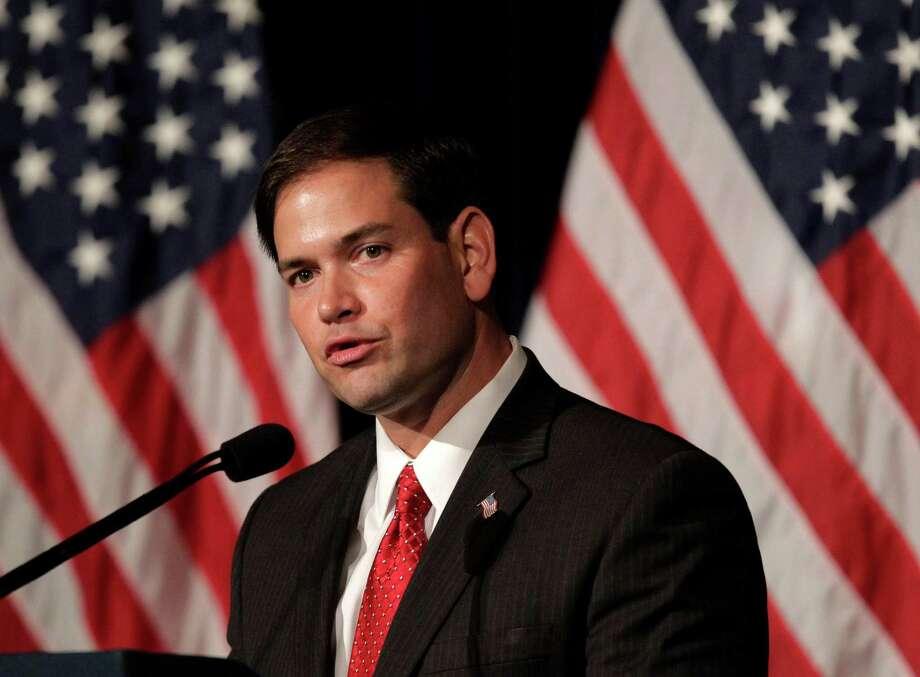 Florida GOP Sen. Marco Rubio has an alternative to the Democrat-backed DREAM Act. Photo: Jae C. Hong / AP