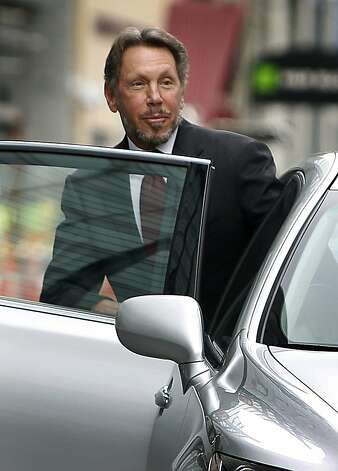 Larry Ellison Photo: Paul Chinn, The Chronicle