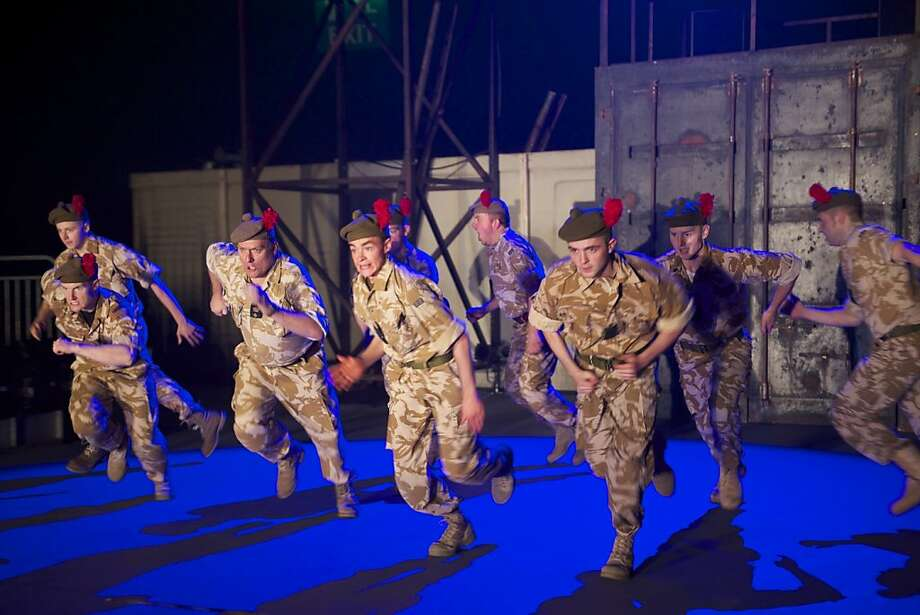 "The National Theatre of Scotland production of ""Black Watch"" Photo: Manuel Harlan"