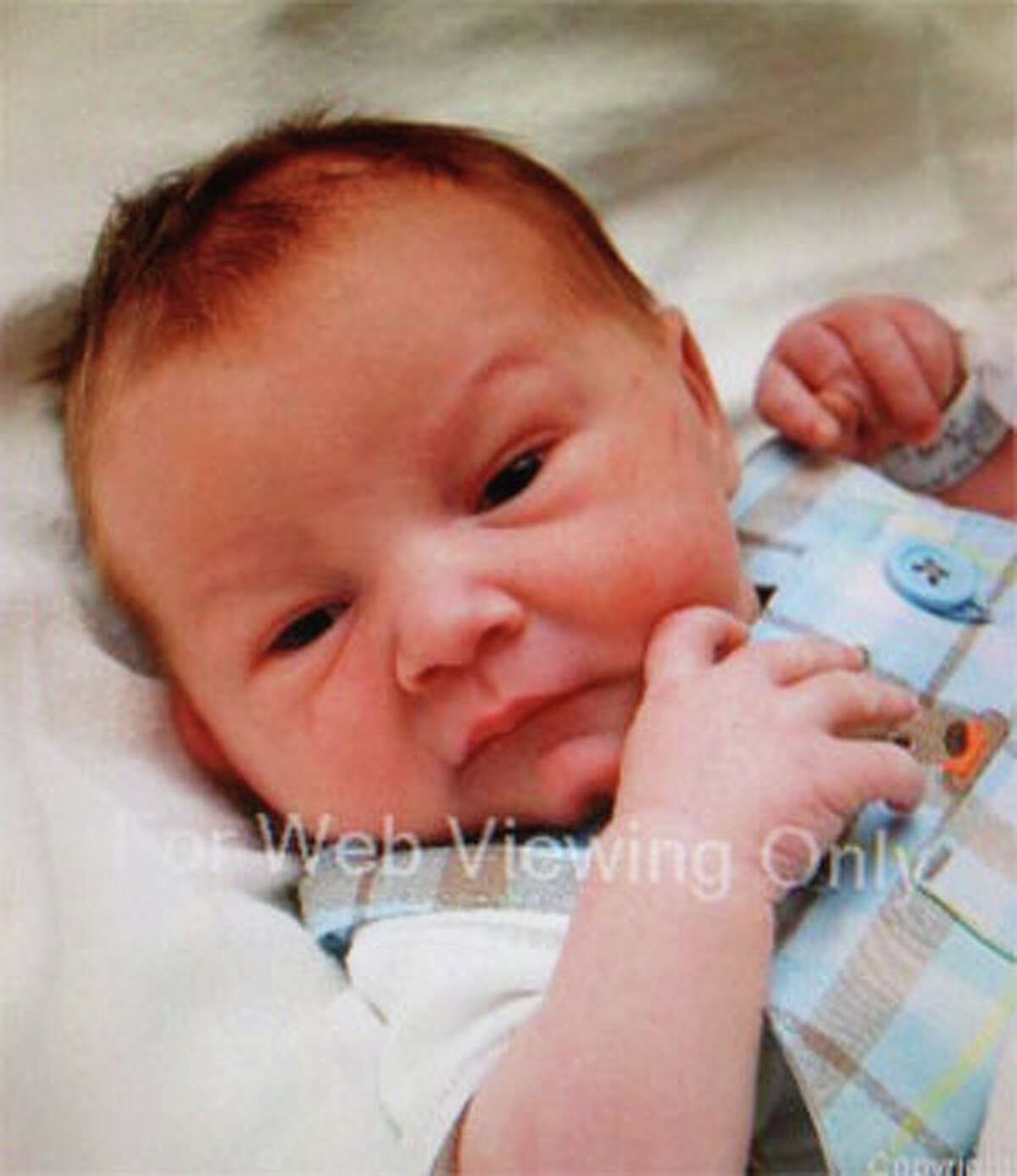 Montgomery County Sheriff's Office released this photo of 3-day-old Keegan Schuchardt.