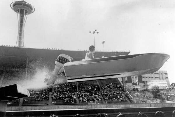 A World's Fair exhibit, Aug. 1962.