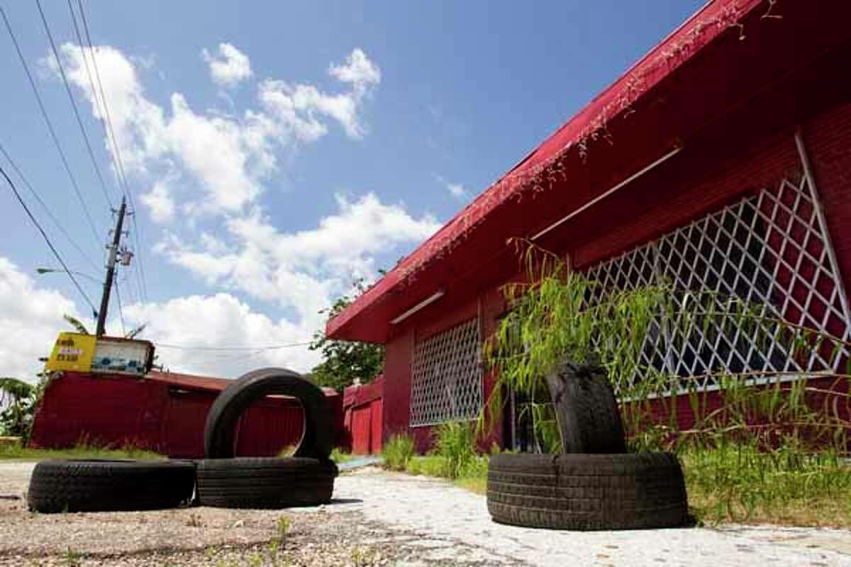 The closed down La Costenita night club is shown in the 8000 block of Clinton Drive Tuesday, April 17, 2012, in Houston.