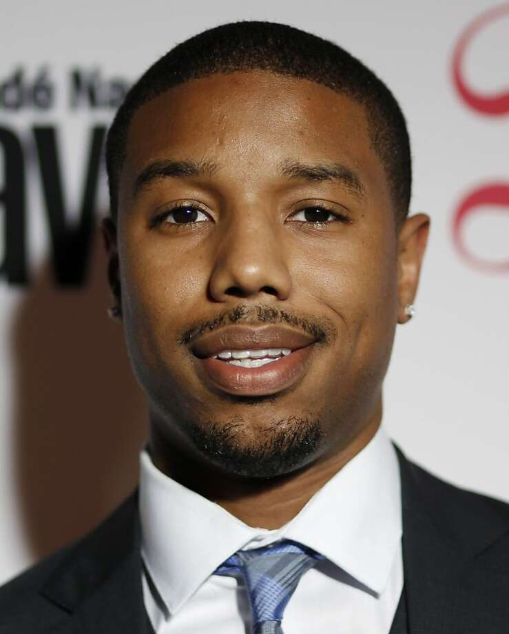 Actor Michael B. Jordan poses at the Conde Nast Traveler Hot List Party at The Presidential Suite of Hotel Bel-Air Thursday, April 12, 2012, in Los Angeles. Photo: Danny Moloshok, Associated Press