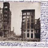 Miscellaneous photos, postcards, newspaper clippings and personal correspondence from the San Francisco earthquake of April 18, 1906 and its aftermath. (Bob Bragman / Fr the collection of Bob Bragman)