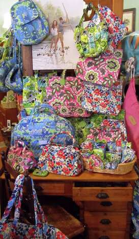 A selection of Vera Bradley's spring items can be found at Bric Brac 'N Brass. Photo: Bric Brac  'N Brass