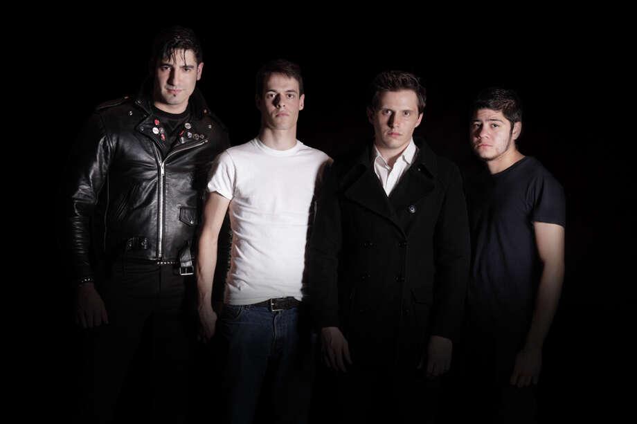 Blackmarket Syndicate is Gaspar Hernandez Jr., from left, Nathan Allan, Randy Rost and Matt Quarantine. Photo: Mallorie Nasrallah