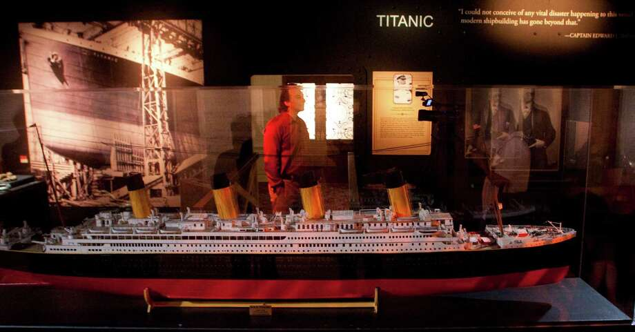 """""""Titanic: The Artifact Exhibition"""" at the Houston Museum of Natural Science. Photo: J. Patric Schneider / Houston Chronicle"""
