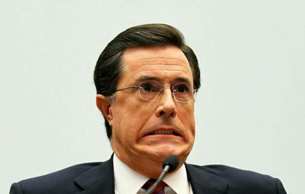 "Stephen Colbert, host of Comedy Centrals ""The Colbert Report"" (Alex Wong / Getty Images)"