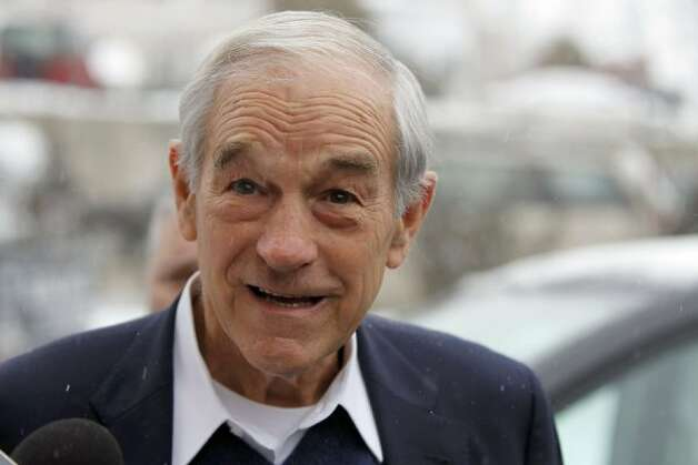 Ron Paul, Texas congressman and Republican presidential candidate (Robert F. Bukaty / AP)