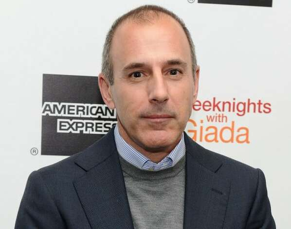 Matt Lauer, Today show host (Jason Kempin / Getty Images)