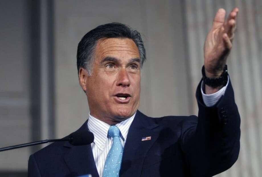 Mitt Romney, Republican presidential candidate (Jessica Kourkounis / Getty Images)