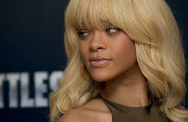 Rihanna, singer (Joel Ryan / Associated Press)