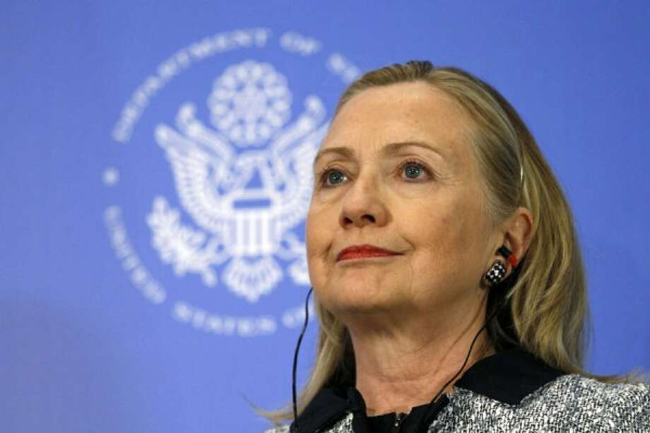 Hillary Rodham Clinton, U.S. Secretary of State (Jacquelyn Martin / Associated Press)