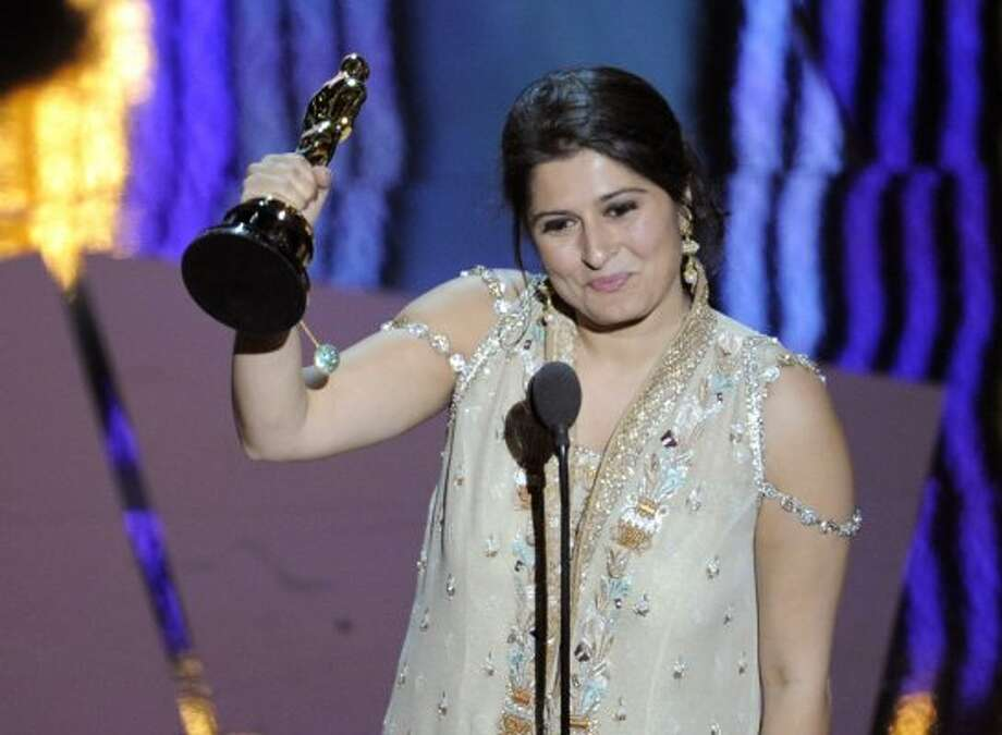 "Sharmeen Obaid-Chinoy, Pakistan's first Oscar-winner for her documentary ""Saving Face"" (Mark J. Terrill / Associated Press)"