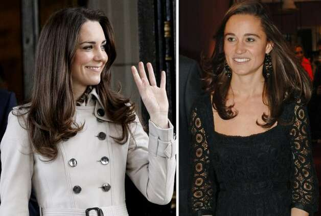 Kate and Pippa Middleton, British royalty and royalty-in-law