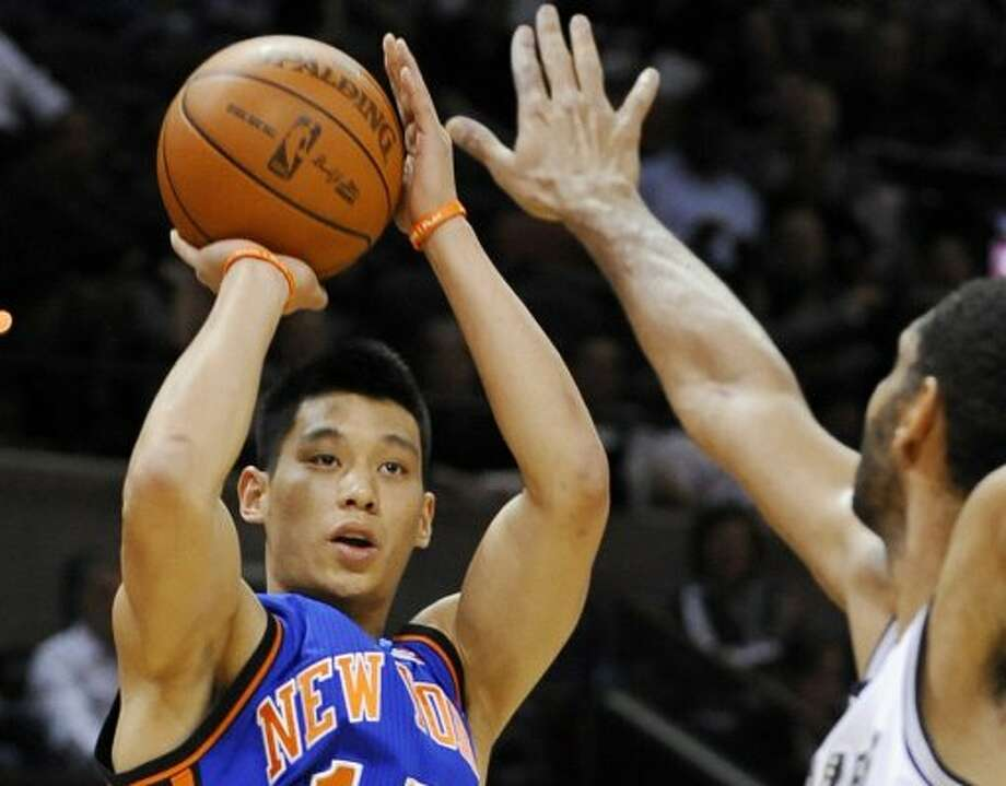 Jeremy Lin, New York Knicks basketball star (Darren Abate / Associated Press)