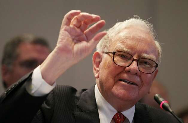 Warren Buffett, Chairman and CEO of Berkshire Hathaway (Mario Tama / Getty Images)
