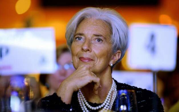 Christine Lagarde, managing director of the International Monetary Fund (JIM WATSON / AFP/Getty Images)