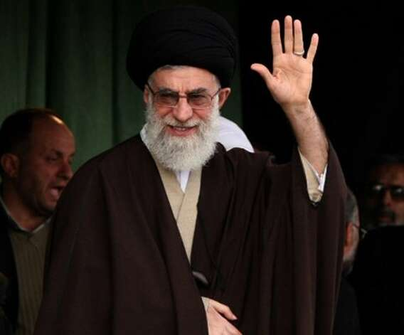 Ayatollah Ali Khamenei, Iranian cleric (- / AFP/Getty Images)