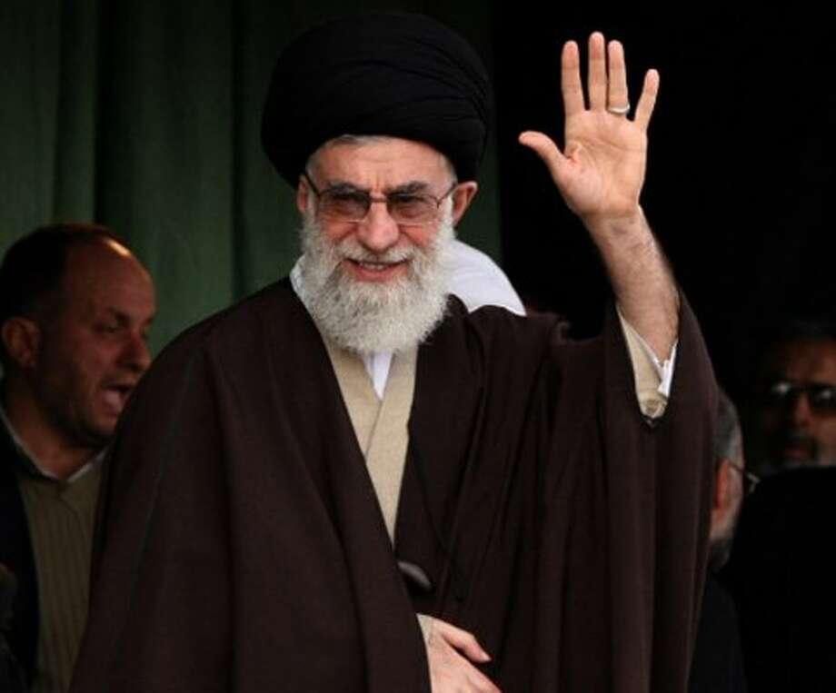 Ayatollah Ali Khamenei, Iranian cleric (- / AFP/Getty Images)