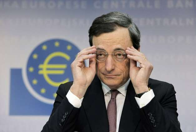 Mario Draghi, president of the European Central Bank (Hannelore Foerster / Bloomberg)