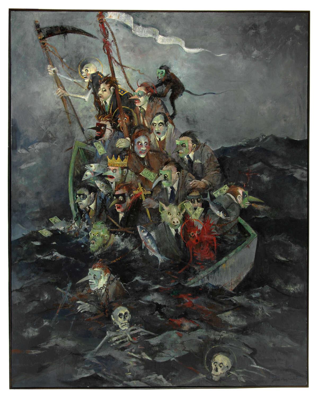 Alexander Ship of Fools