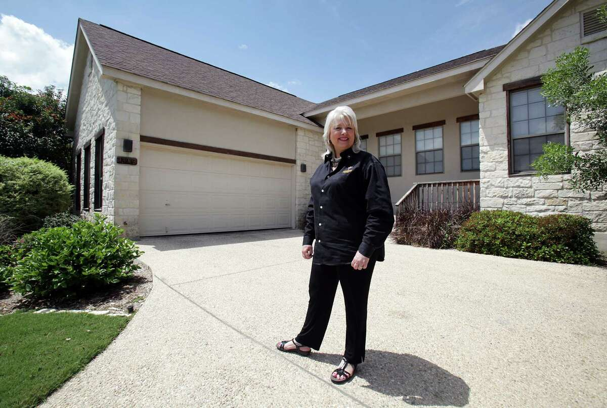 Mary Landon Darden, Dean of Concordia University Texas, San Antonio Center, recently purchased a home by securing a loan through Broadway Bank. Wednesday, April 11, 2012. Bob Owen/San Antonio Express-News.