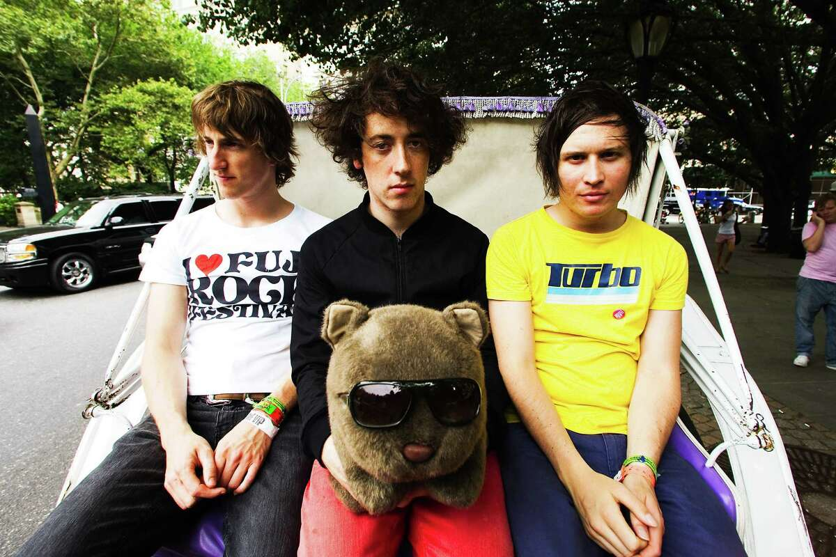 The Wombats, an indie-rock band from Liverpool , on a rcent stop in NYC August 2007 (14th Floor Records)