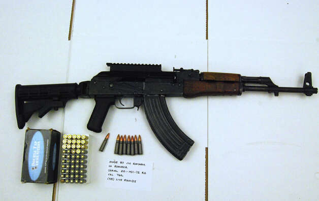 An AK-47-style rifle bought during a recent undercover sting operation targeting gun traffickers. Photo: Courtesty Of U.S. Department Of Justice