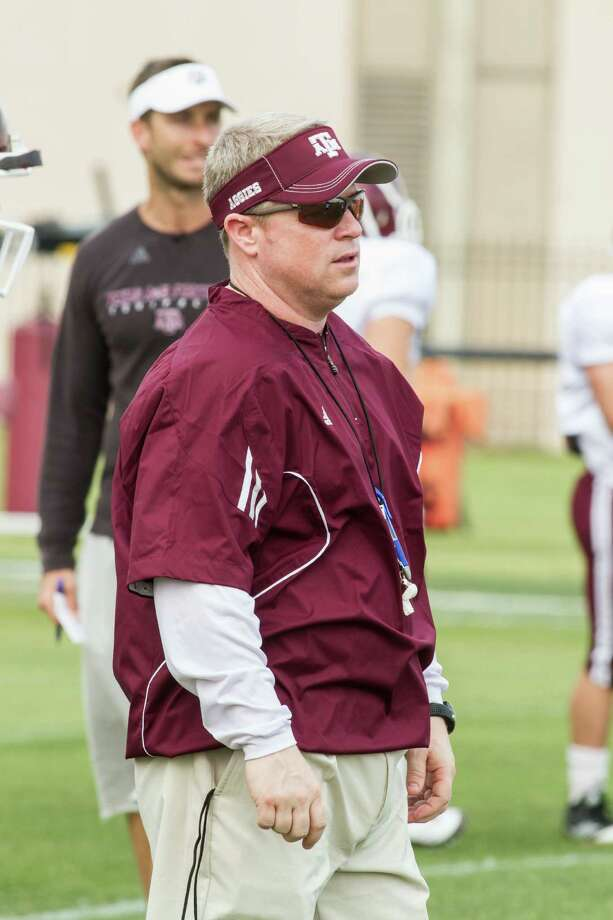 Texas A&M special teams coach Brian Polian, 2012. Photo: Courtesy Texas A&M